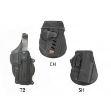 Funda pistola Fobus rotatoria paddle / cinturon con sitema TB, SH o CH