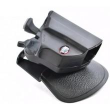 Funda pistola Fobus rotatoria paddle / cinturón con doble sistema de retención. DB