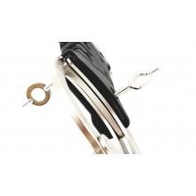 Grillete rigido SPEEDCUFF níquel doble cerradura TCH842