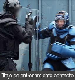 Traje CPE de entrenamiento medio policial y militar