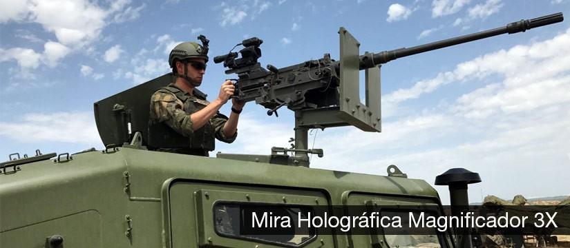 Mira holográfica militar Magnificador 3X